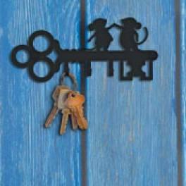 Настенные ключницы